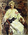 Woman by K. Korovin (1922, Belarus).jpg