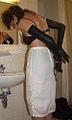 Woman diapererd in selfbondage 9.jpg