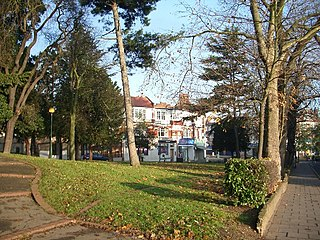 Woodford Green Human settlement in England
