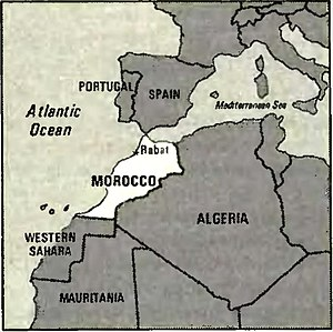 World Factbook (1982) Morocco.jpg