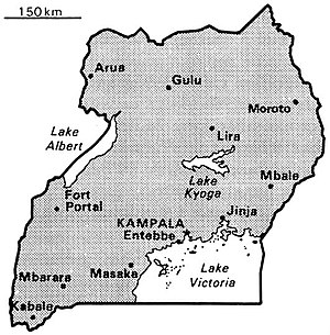 World Factbook (1990) Uganda.jpg