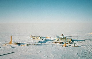 Russian research station in Antarctica