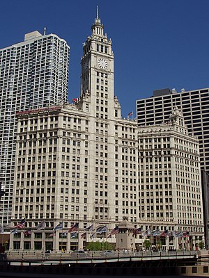 Wrigley Building - Wrigley Building; Chicago, Illinois