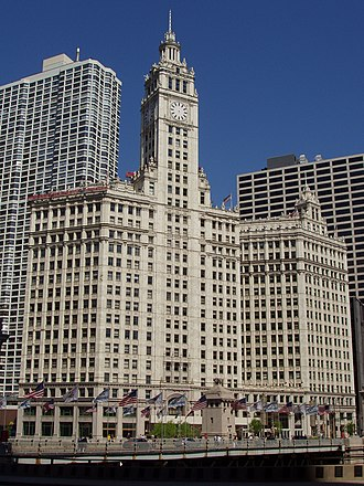 Wrigley Company - The Wrigley Building, former HQ