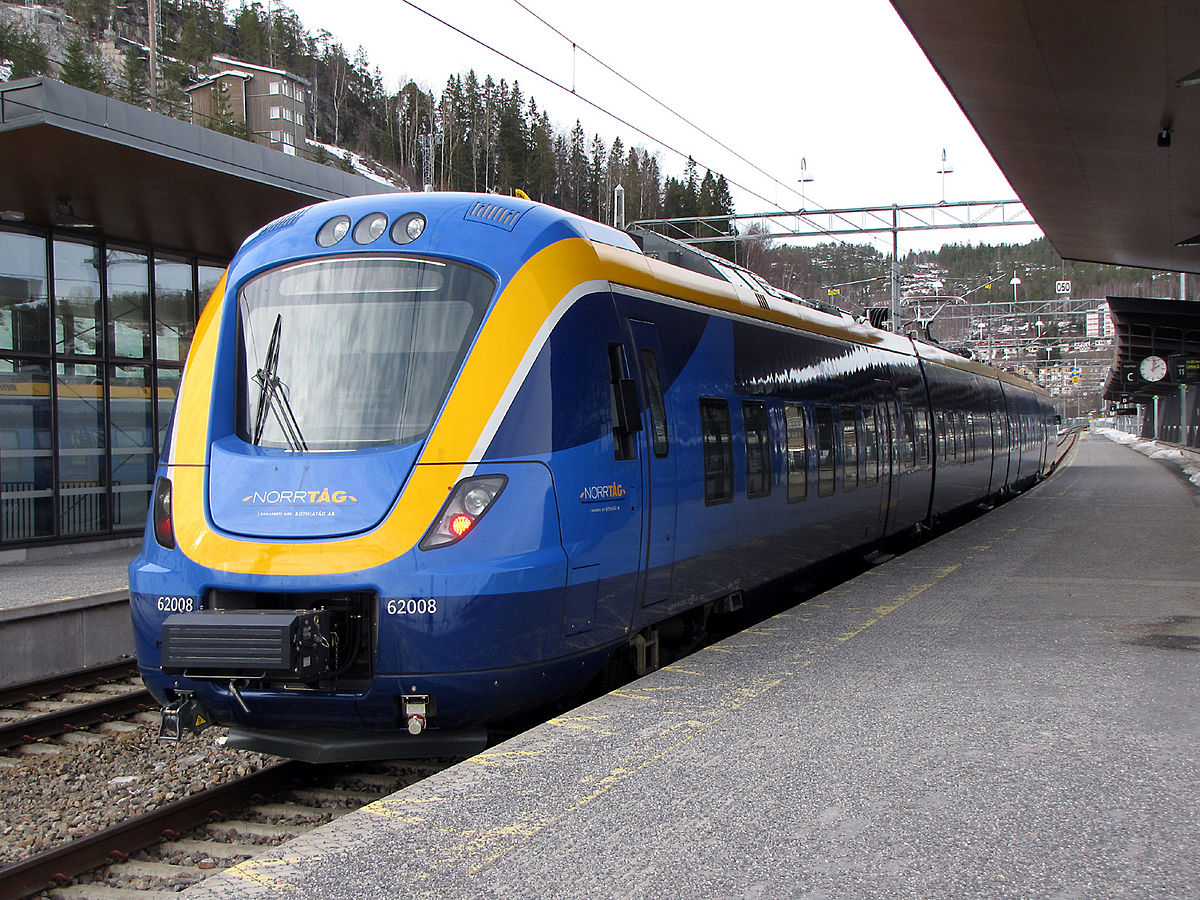 tåg från luleå till umeå