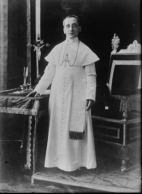 Pope Benedict XV during his reign. XV. Benedek.jpg