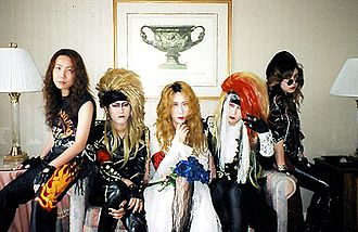 Visual kei - Japanese fans doing X Japan cosplay