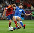 Xavi and Riccardo Montolivo Euro 2012 final.jpg