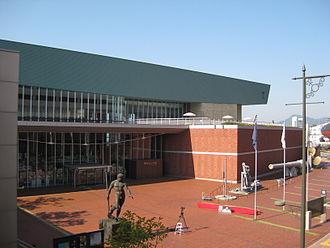 Yamato Museum - Image: Yamato Museum in October 2008