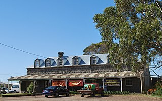 Yambuk Town in Victoria, Australia