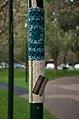 Yarn bomb - pole 1 (5521586544).jpg