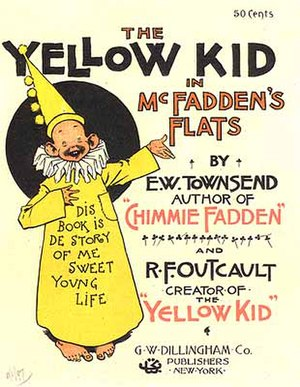 American comic book - The Yellow Kid in McFadden's Flats (1897)