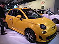 Yellow Fiat 500 NYIAS 2013.jpg