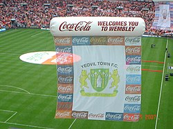 Yeovil Flag at Wembley.jpg