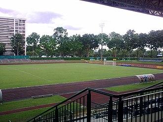 Yishun Stadium - Image: Yishun Stadium, Bikerally Singapore, 2009