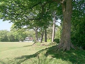 Ynysangharad Park - Image: Ynysangharad Park Cricket Ground geograph.org.uk 421727