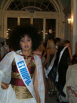 Yodit Getahun - Yodit Getahun at Miss Tourism of the Globe 2003 held in Russia