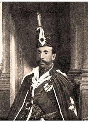 Hassan Ali Mirza - Hassan Ali Mirza Bahadur at a young age.