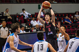 2013 FIBA Asia Championship - Classification match between Japan and Hong Kong