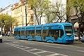 Záhřeb, Kneza Branimira, tramvaj.jpg