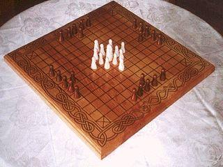Tafl games A group of asymmetric boardgames