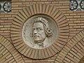 Zaragoza - Antigua Facultad de Medicina - Medallón - Lamark.jpg