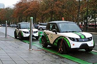 Tazzari Zero - Image: Zencars (Tazzari Zero) at Avenue Louise, Brussels, Belgium