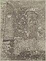 Zicht op deel noordzijde hervormde kerk met ingemetselde grafzerk - Anloo - 20319505 - RCE.jpg