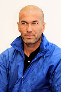 Zinédine Zidane in september 2013.