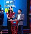 Zivanna Letisha With Comedian Bedu On Waktu Indonesia Bercanda Netmediatama.jpg
