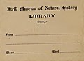 """""""Field Museum of Natural History Library Chicago"""" bookplate in 1832, from- Journal of the Asiatic Society of Bengal (IA journalofasiatic731calc) (page 2 crop).jpg"""