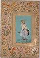 """Portrait of Qilich Khan Turani"", Folio from the Shah Jahan Album MET sf55-121-10-30a.jpg"