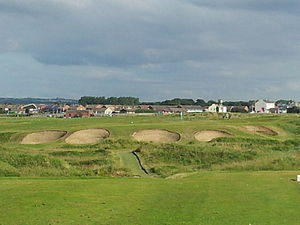 "Seaton Carew Golf Club - ""The Doctor"" a testing Par 3 named after Club Founder Dr. Duncan McCuaig."