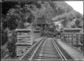 """Ub"" class steam locomotive no. 336 (4-6-0 type), approaching a bridge. ATLIB 292890.png"