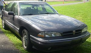 1994-1995 Pontiac Bonneville photographed at t...