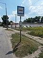 'Oroszlány, Korányi Frigyes utca' buszmegálló, 2018 Oroszlány.jpg