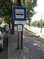 'Szentes, Művelődési Központ' bus stop, 2019 Szentes.jpg