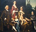 'The Gordon Family', oil on canvas painting by Henry Benbridge, c. 1762.JPG