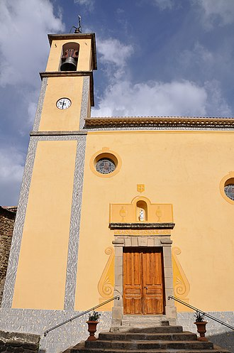Braux, Alpes-de-Haute-Provence - The church in Braux