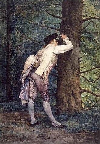 Étienne-Prosper Berne-Bellecour - Image: Étienne Prosper Berne Bellecour The Lover