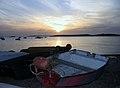 Île-Grande coucher de soleil sur le port.jpg