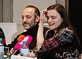 Österreichischer Filmprei 2011 Pressekonferenz01 Barbara Albert, Karl Markovics.jpg