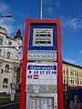 Ústí nad Labem, zastávka Hlavní nádraží, označení.jpg