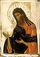 Іван Хреститель Візантія кінець13 ст. темпера 87,6 х 66 см.jpg