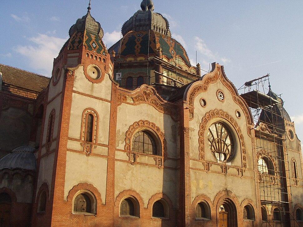 Јеврејска синагога у Суботици - април 2008