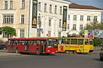 Автобус Mercedes-Benz Turk O345 и трамвай 71-605 в Смоленске.jpg