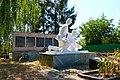 Братська могила і пам'ятник 149 воїнам – односельчанам, загиблим на фронтах ВВВ Ксаверівка.JPG