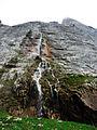 Водопад под склоном горы Фишт.JPG
