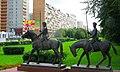 Волжский бульвар, Kuz'minky, Moscow, Russia. - panoramio - Oleg Yu.Novikov (1).jpg