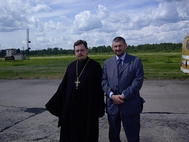 Всеволод Чаплин и Валиулла Якупов в 2006 году